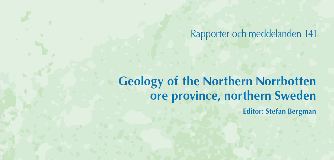 New publications on the geology in northern Sweden