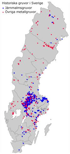 norberg sverige kart Historiska gruvor norberg sverige kart