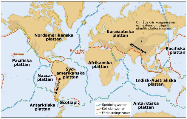 Karta Europa Turkiet.Jordbavningar Och Vulkaner