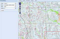 Karta Sverige Hojdkurvor.Kartgeneratorn