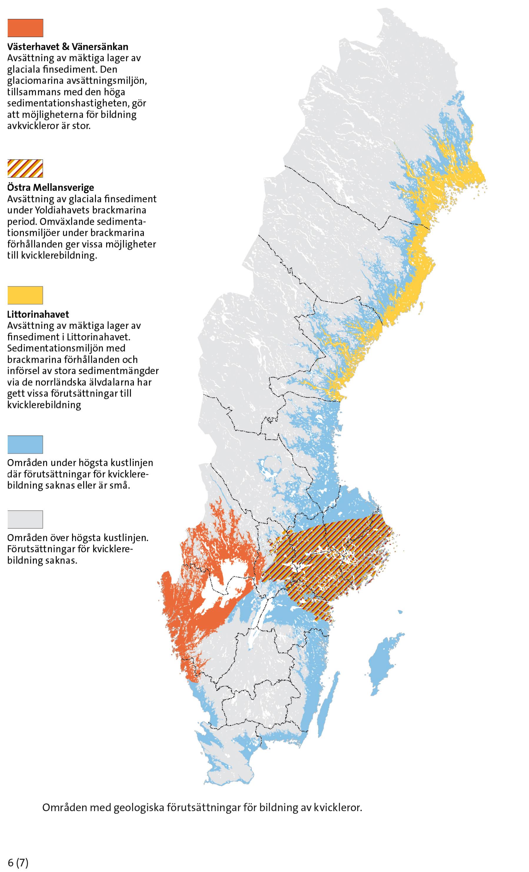 radon göteborg karta Ny rapport och karta visar förutsättning för kvicklera radon göteborg karta